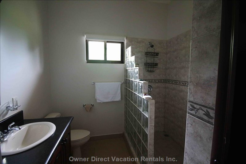 Bathroom with Beautiful Walk in Shower