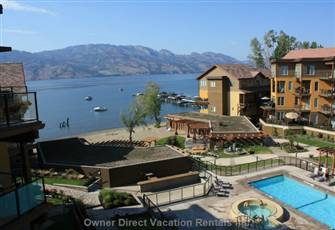 Okanagan Luxury Lakeside Condominium with Boat Slip