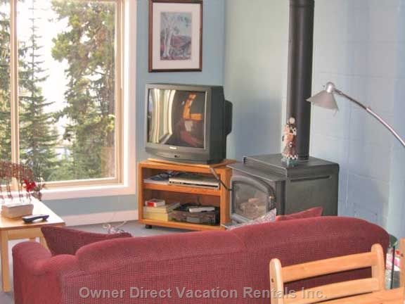 Gas Fireplace, Lots of Videos, DVD'S and Games