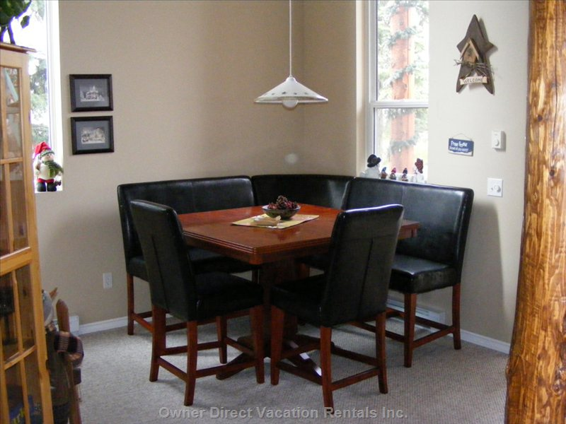 Dining Area - Pub Style Dinette