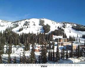 View from the Living Room of Silver Star Village and Runs