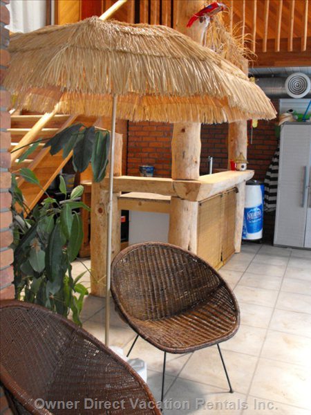 Pool Side Tiki Bar