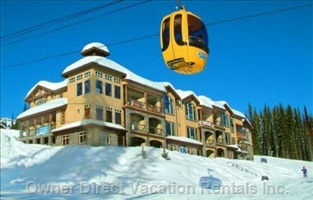Location Location Location! - Truly the most Convenient Place to Stay in Big White!