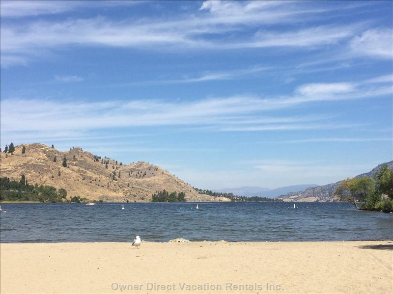 Skaha Lake and Beach are Just 20 Minutes Away.