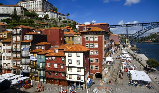 Ribeira (by the Douro River) at 250 Meters