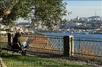 Palácio DE Cristal Gardens, Views over the River'S Waterfront (15 Min. Walking)
