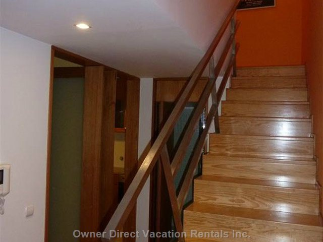 Inside Stairs to Bedrooms