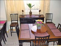 Dining Room with Buffet and Breakfast Bar