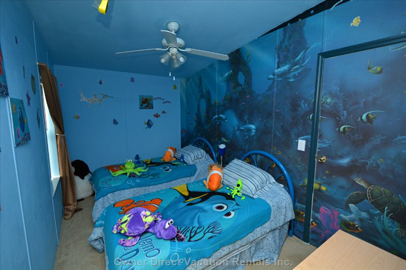 Nemo Room - Submerge yourself in our under the Sea World of Nemo and Friends.
