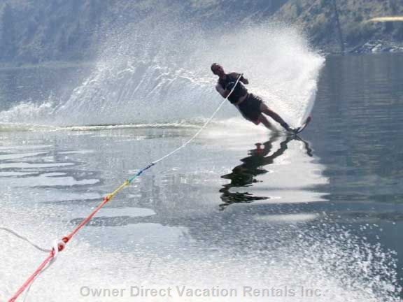 Waterskiers Will be Spoiled