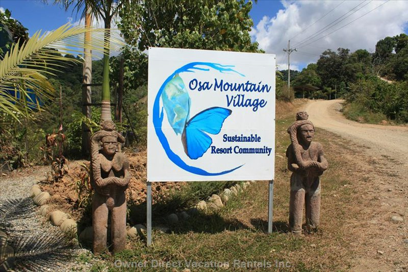 Welcome to Osa Mountain Village