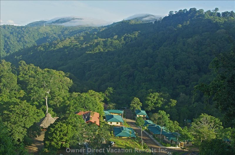 Osa Mountain Village ...High in the Sky, in the Middle of the Jungle