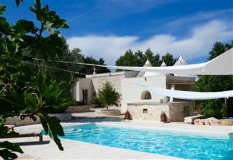In the Valle D'itria, Land of the Trulli, this is your little Piece of Heaven