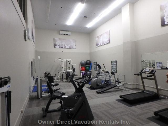 Gym - Fitness Area at Bottom of Complex