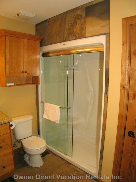 Master En-Suite has a Steam Shower