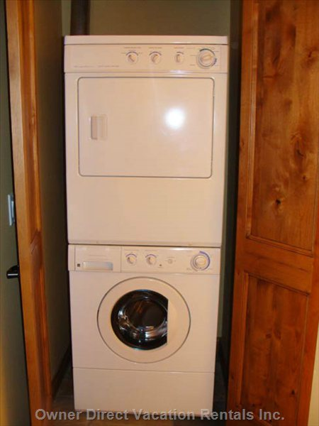 Washer and Dryer in Unit