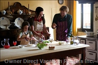 Cooking Classes Can be Arranged upon Request in the Company of the Owner, Lead by a Master Chef