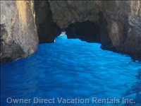 The Blue Cave - Cape Palinuro