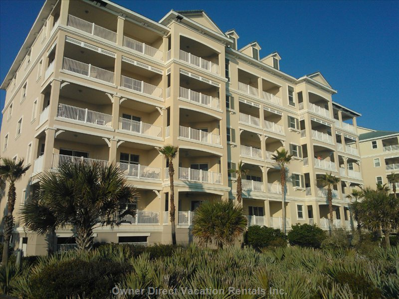 Our Fifth-Floor Direct Oceanfront Condominium has all the Comforts of Home.