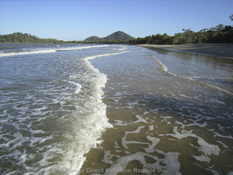 Palm Cove Beach, 25 Metres (75 Feet) from the Resort