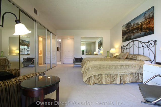 King Size Master Bedroom Suite with Private Bath
