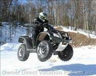 Quad Biking in Winter Or Summer