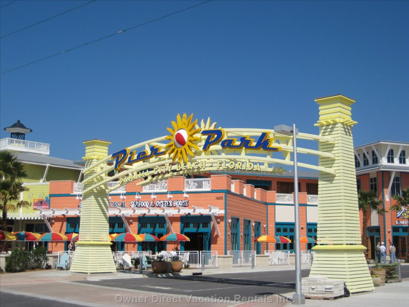 Newly Constructed - in 2006 with Outdoor Restaurants and Live Music