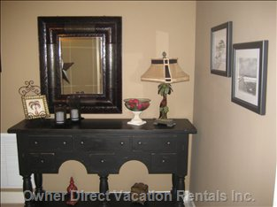Entry Way - When you Open the Door to the Condo, you Will See a Antique Pictures of the Early Days of Panama City Beach.