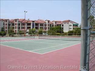 Community Lighted Tennis Courts