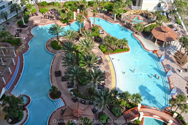 Mediterranean-style beach resort condo on the sands of Gulf of Mexico, ID#209787