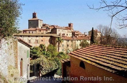 Panicale, Medieval Village