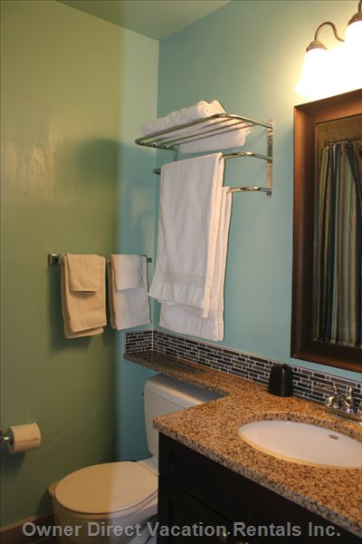 Upstairs Bathroom - Newly Renoed