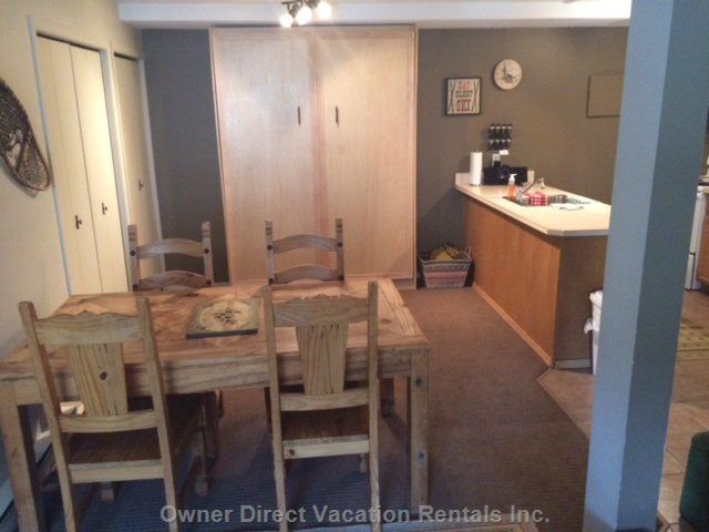 Dining/Murphy Bed