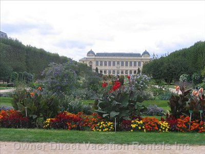 View of the Botanical Garden