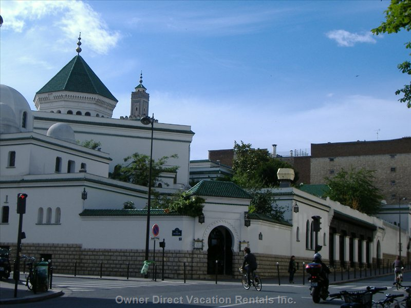 Paris Grand Mosque, ID#125358