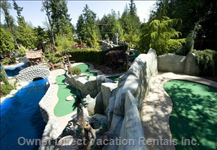 Riptide Lagoon is Parkvilles Newest Mini Golf Attraction.