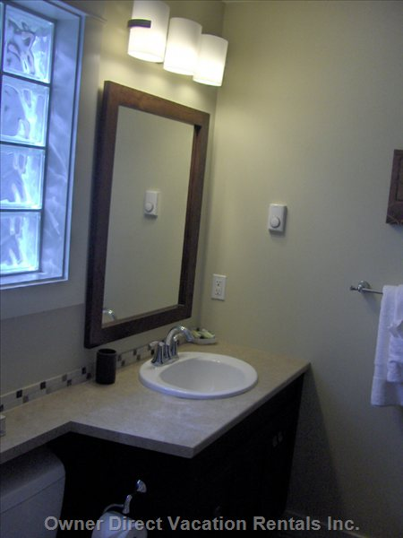 Main Floor Four Piece Bathroom