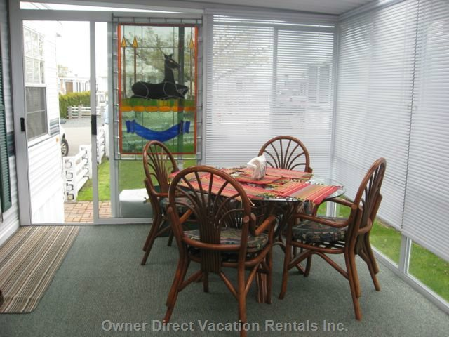 Sunroom with Dining
