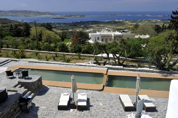 Stunning Pool and Sea View from our Vila-Studio 5