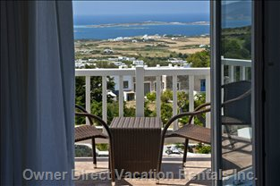 Enjoy the Stunning View from your Balcony