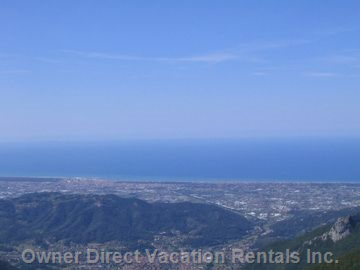 View of the Versilia'S Beaches