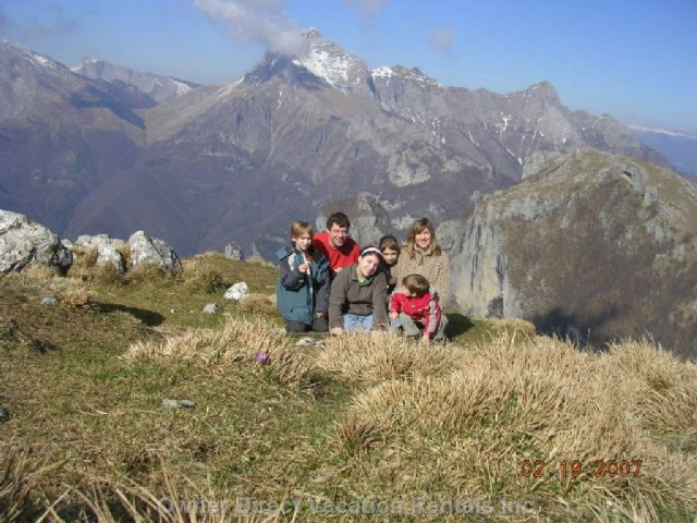 Guests on the Top of Matanna Mountain