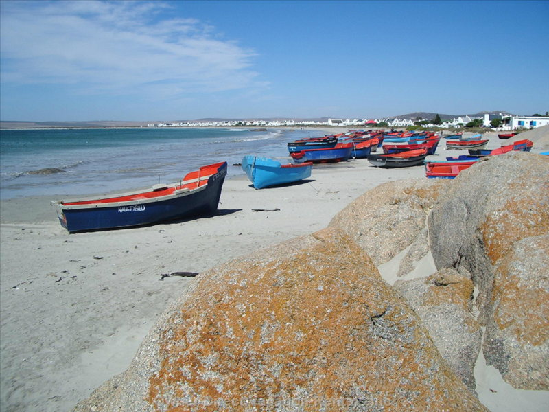 Fishing Boats on the Main Beach at Paternoster 500m Away