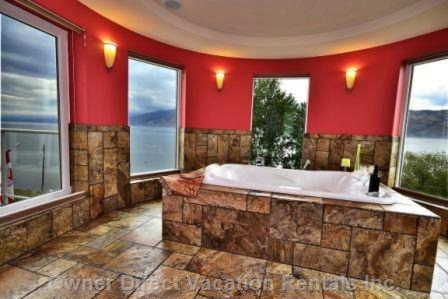 Lakeview Spa Room with Double Jacuzzi and Make up Area
