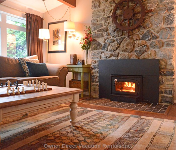 Winter Here is Special, Make yourself Warm and Comfy with our Wonderful Log Burner
