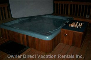 Enjoy an Evening Hot Tub under the Stars!