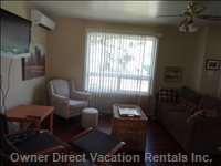 Living/Family Room - Air Con, Hdtv, Great Fold out Couch