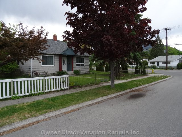 Front of Residence ..200 Meters to Lakawana Park and Only  2 Blocks to Okanagan Lake