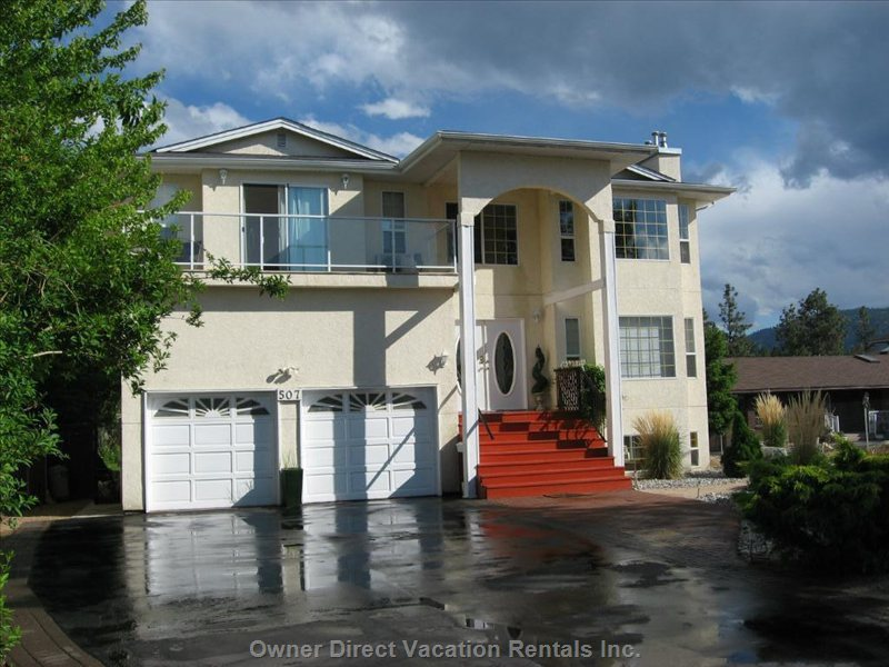 Sunnybay Estate: Suitable for Families and for Mature Adult Groups on 'tour' ( Music, Tri-Sport Events, Hike, Wine, Rock Climbing).