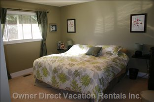 Master Bedroom - the Master Bedroom is Located on the Main Floor, New King Size Mattress